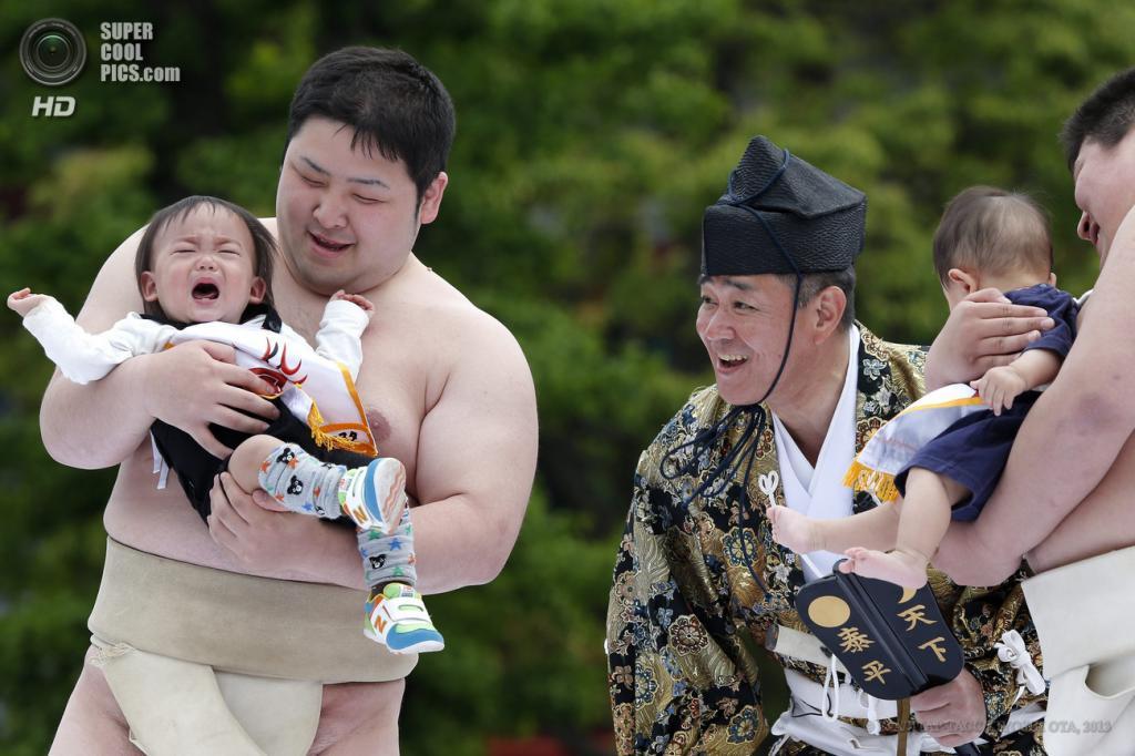 Фестиваль детского крика «Накидзумо»
