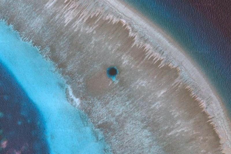 3. Подобные голубые дыры были сформированы во время предыдущих ледниковых периодов. Китайские ученые