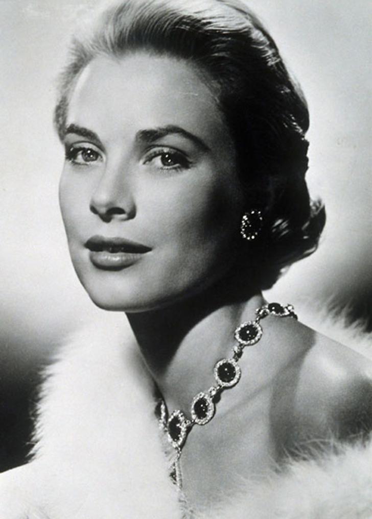2. 1950 год. Портрет американской актрисы Грейс Келли. В период с 1950 по 1953 год молодая актриса ч
