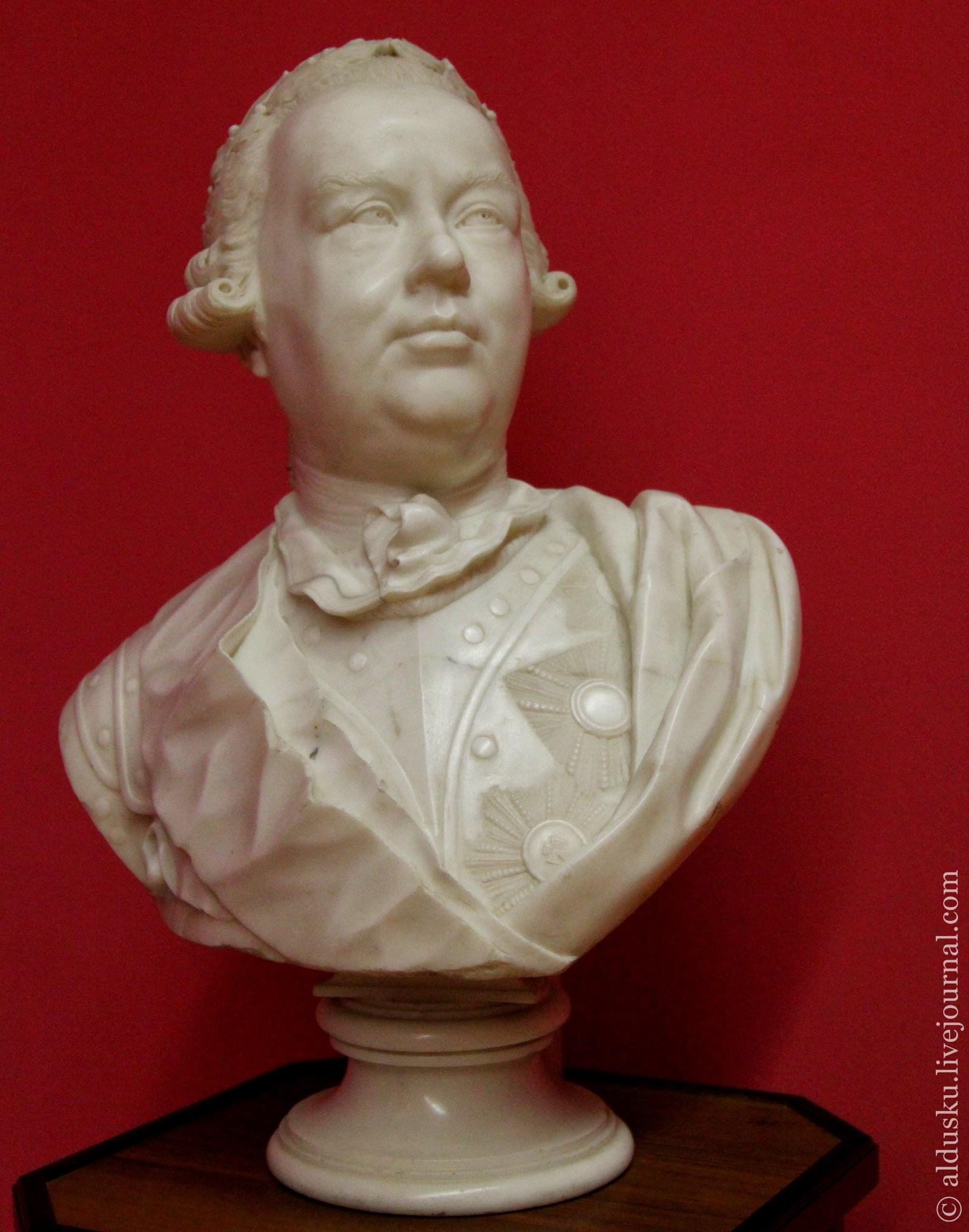 Шубин Ф.И. (1740–1805) Генерал-фельдмаршал граф П.А. Румянцев-Задунайский. 1778. Мрамор
