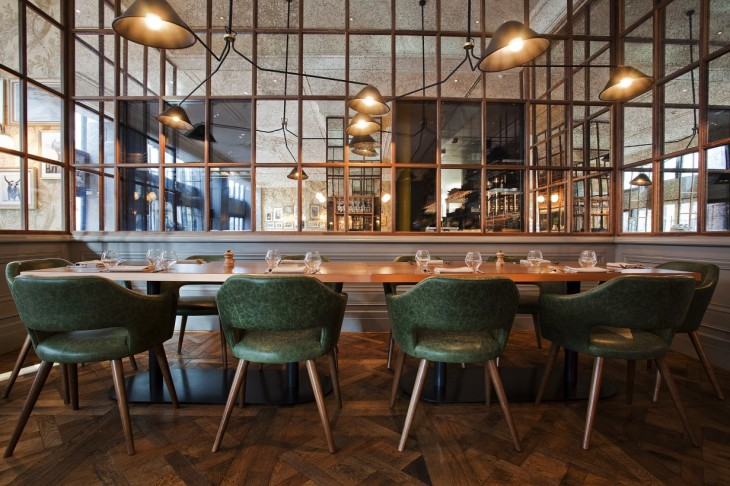 Deak St. Kitchen & Kupola Lounge cafe by B3 Designers