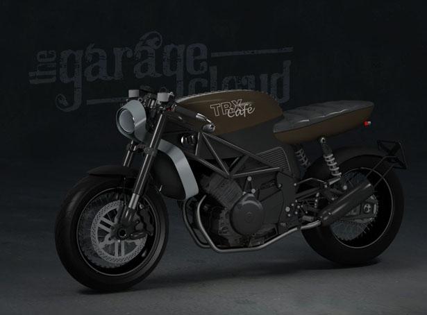Стефан Тот: редизайн Yamaha TRX850