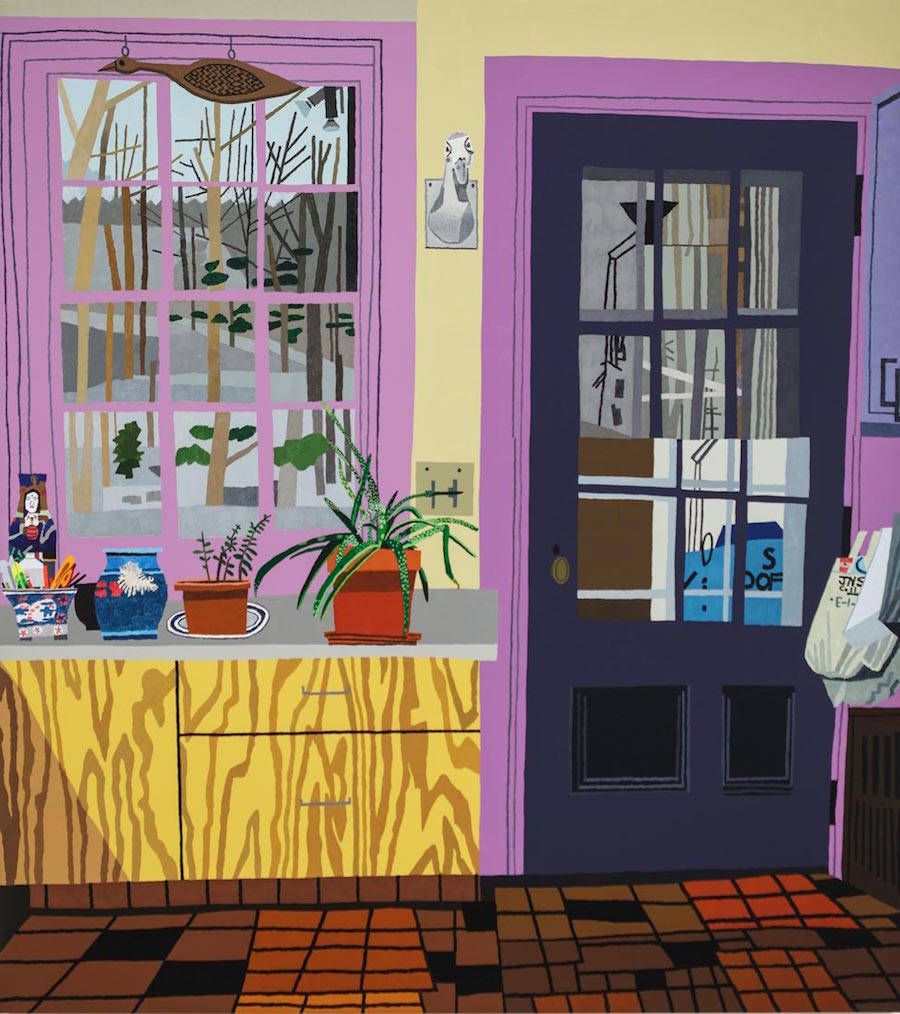 Dense and Colored Everyday Life's Paintings