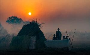 Вечерний этюд в племени Нуэр