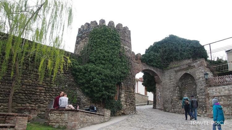 Крепостные стены Сигнахи