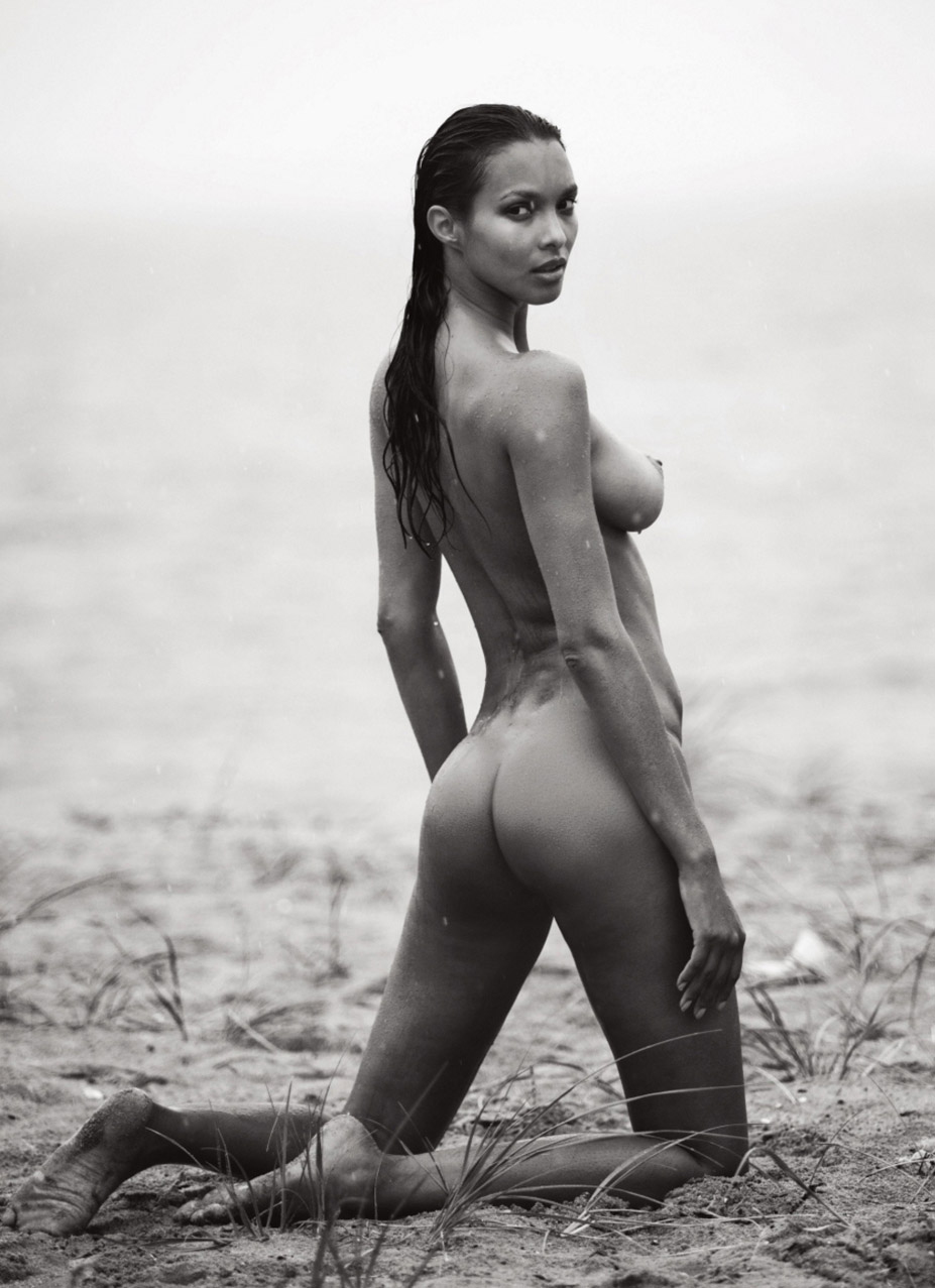 Лаис Рибейро в журнале Lui september 2016 / Lais Ribeiro nude by David Bellemere