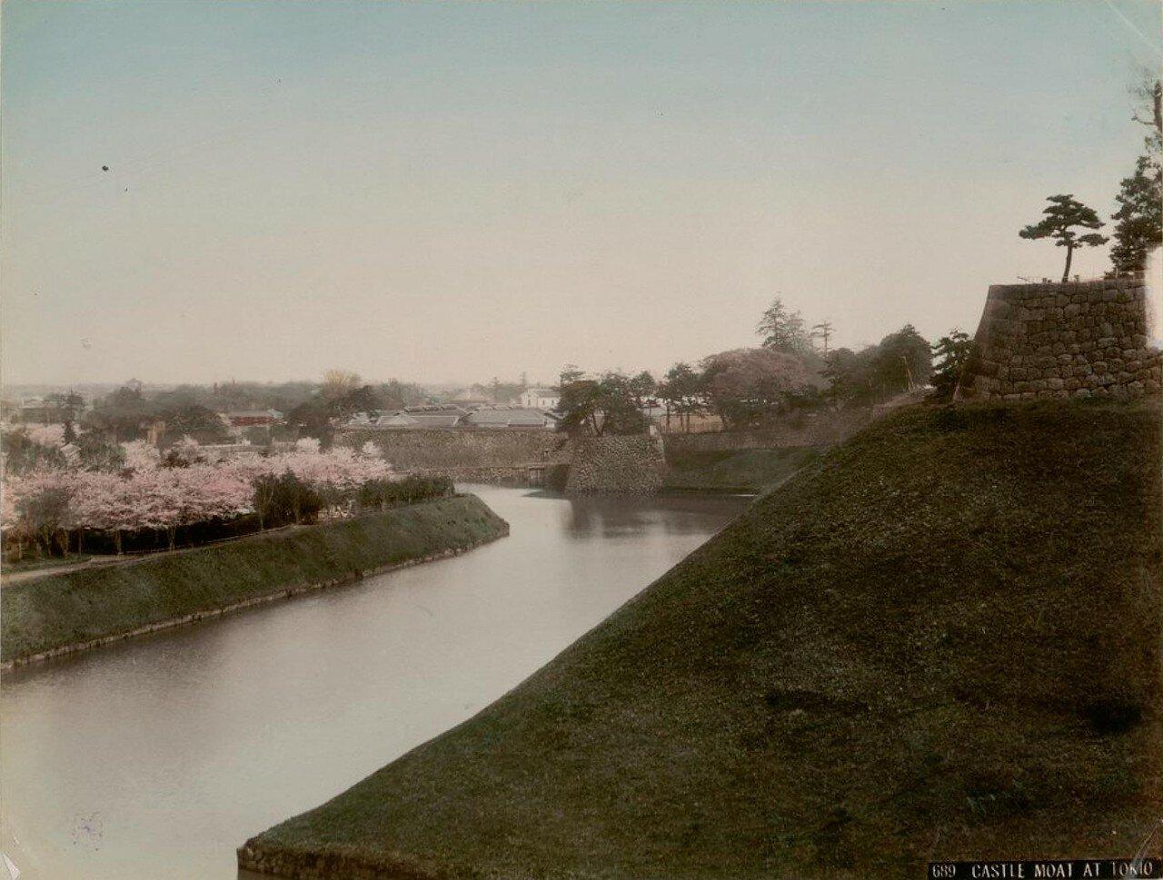 Токио. Замковый мост