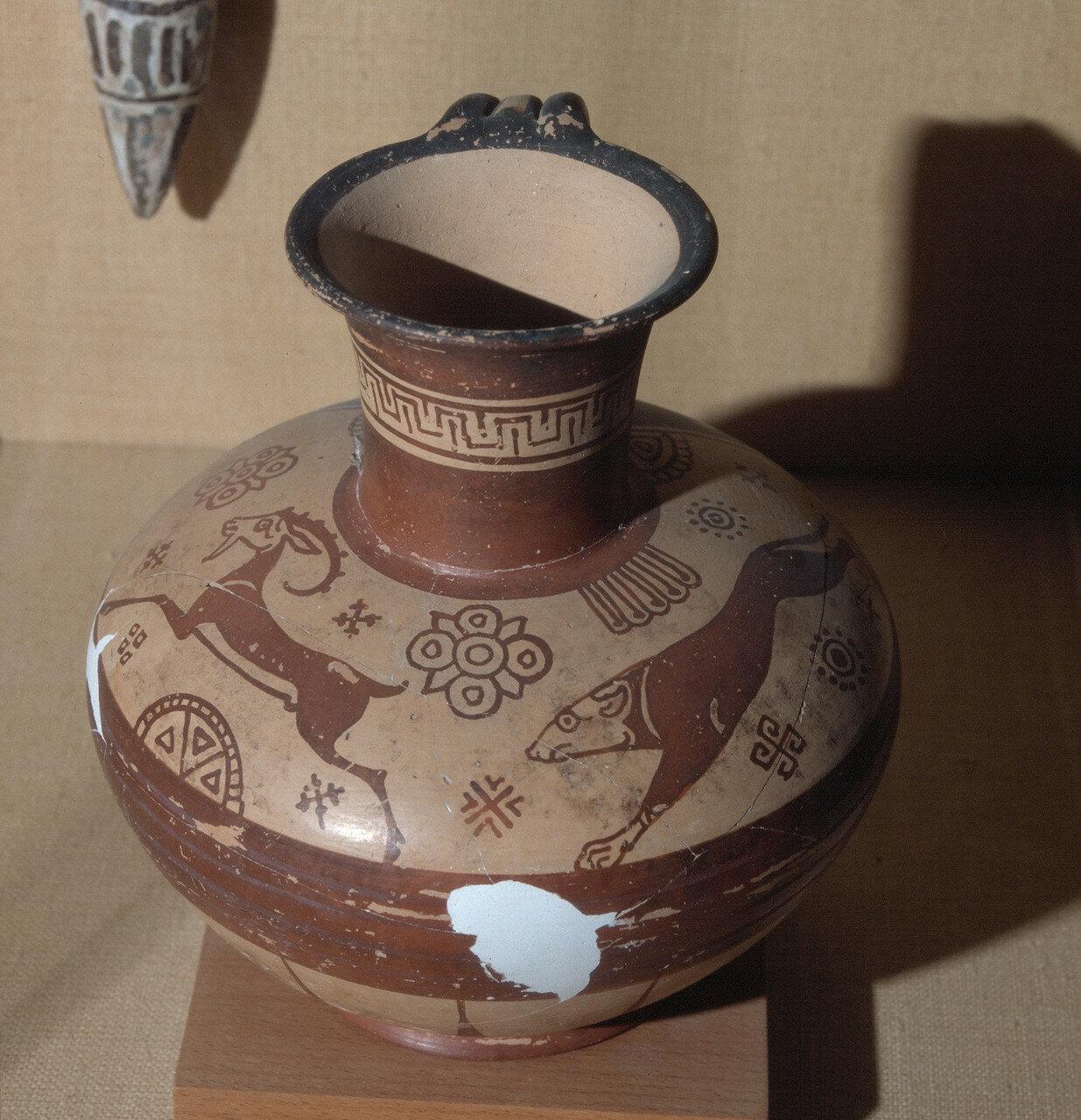 Родос, Археологический музей. Ойнохоя,  VI в. до н.э.