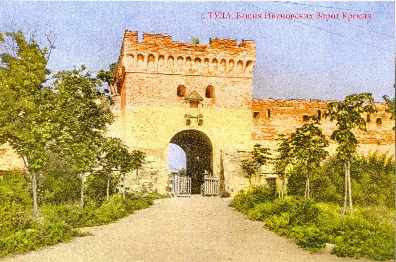 Башня Ивановских ворот Кремля