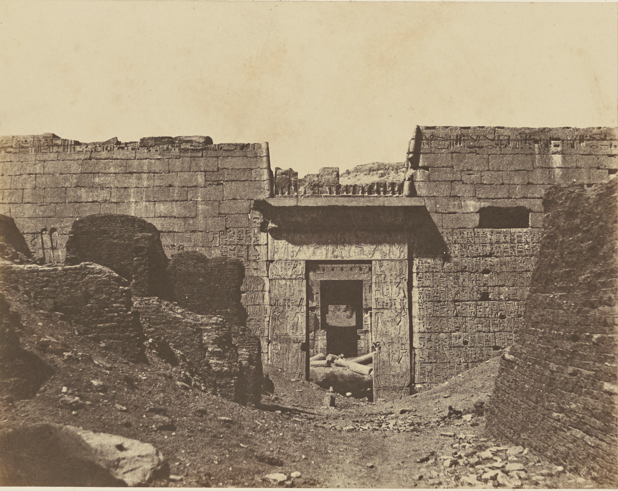 Мединет-Абу. Храм Рамсеса III, Medinet Habu