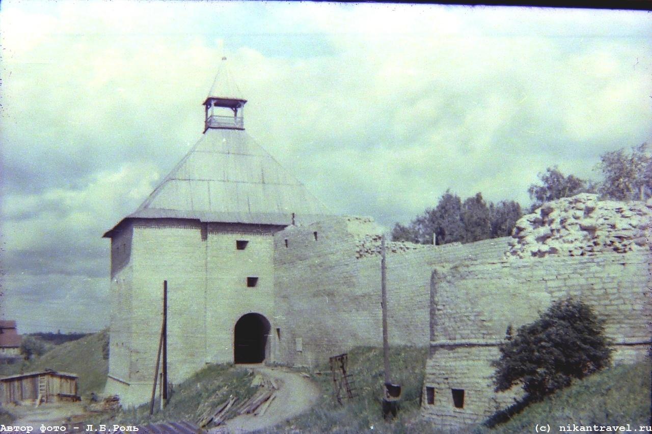 Редкие фото Волхова, Старой и Новой Ладоги около 1970 г.