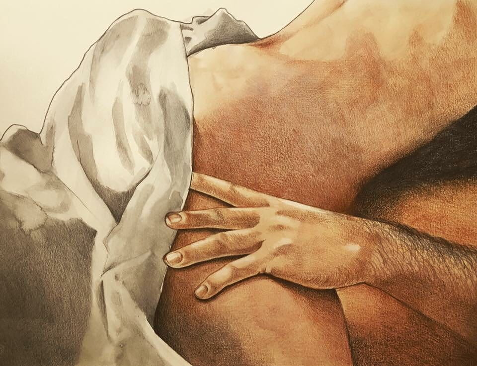 Интимные иллюстрации Фриды Кастелли