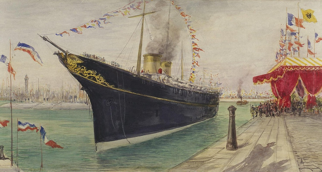 Павел Яковлевич Пясецкий «Пребывание Их Императорских Величеств во Франции в 1901 году»