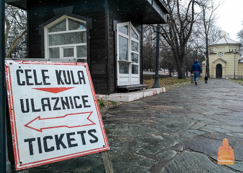 Билет в Башню черепов стоит 200 сербских динар по комплексному билету