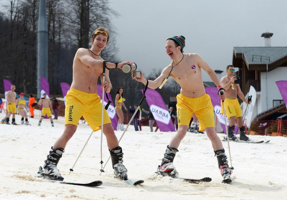 HD горы лыжники рекорды