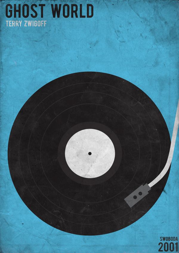 Retro Minimalist Movie Posters - Swoboda