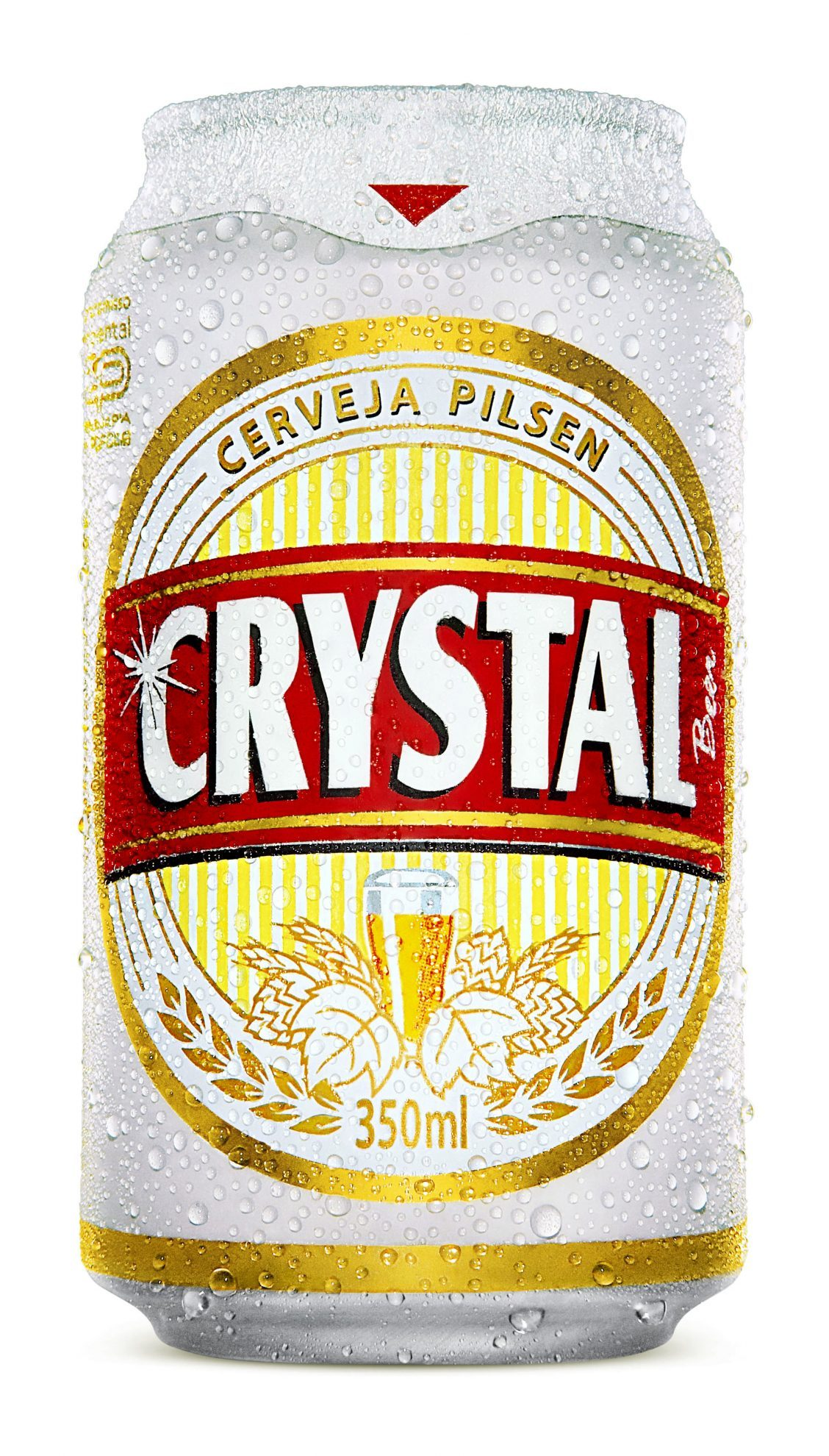 Evolucao da identidade visual da cerveja Crystal (6 pics)