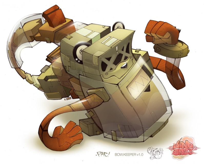 Illustrator - Character Designer - Francisco Perez aka Pac23