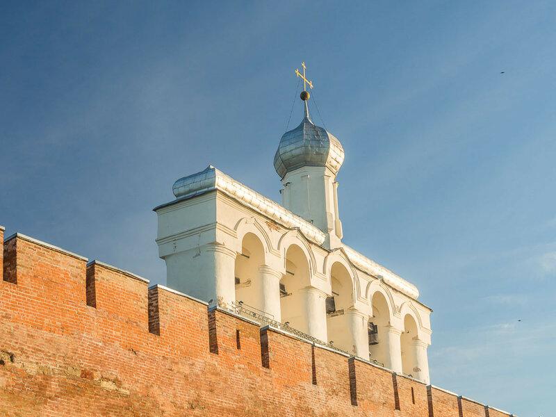 Звонница Софийского собора.