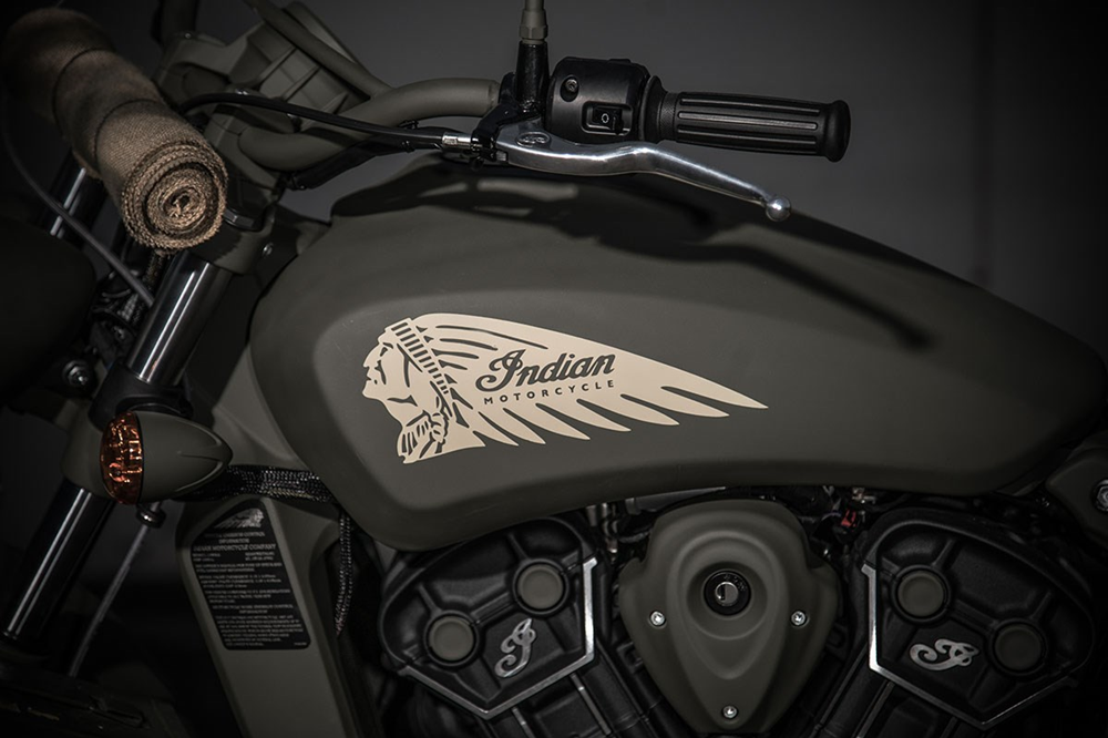 Мотоцикл Indian Scout Sixty 741B Call of Duty Edition