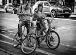 На велодорожке