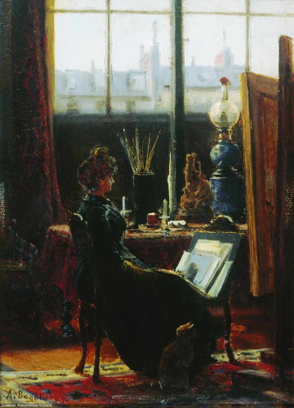 Мастерская художника. 1870-е