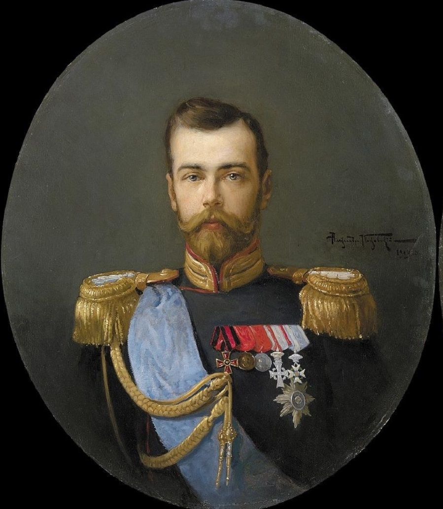 Portraits of Nikolai II, 1903.