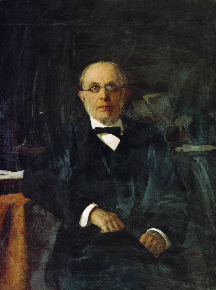 Портрет обер-прокурора Синода К.П.Победоносцева. 1899.