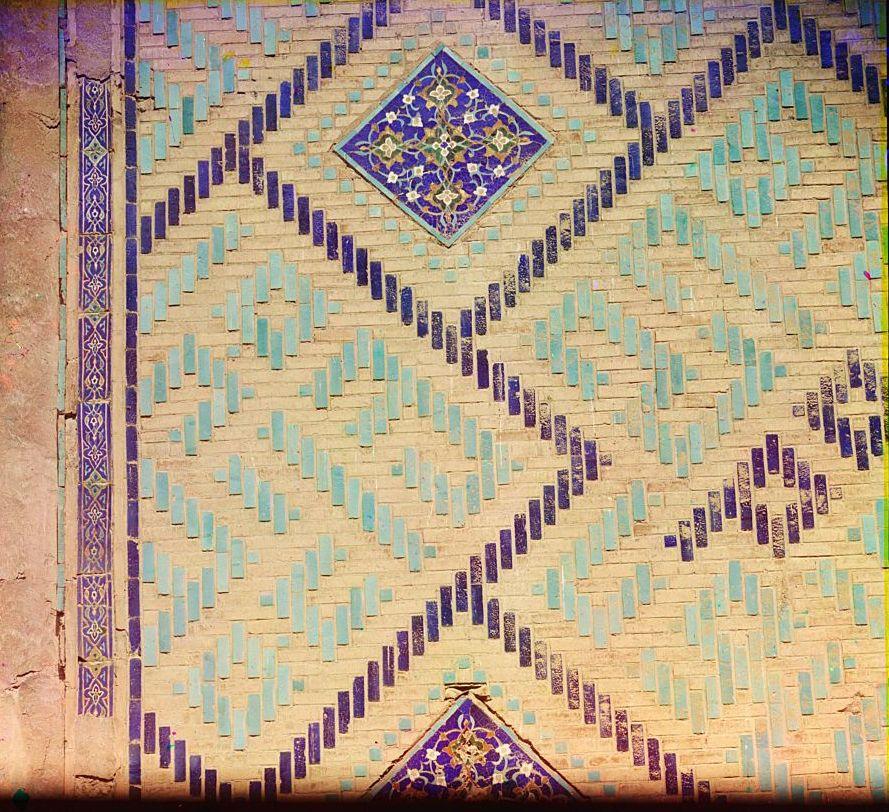 Деталь стены Улук-Бек (внутри)