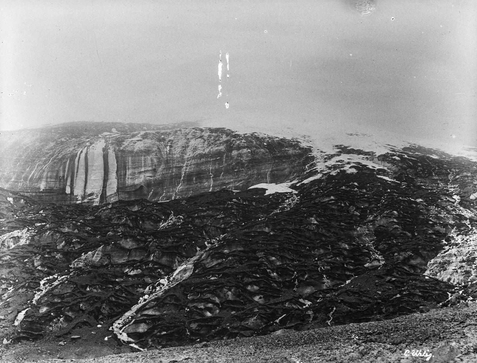 158. Ледник Керстена на Кибо