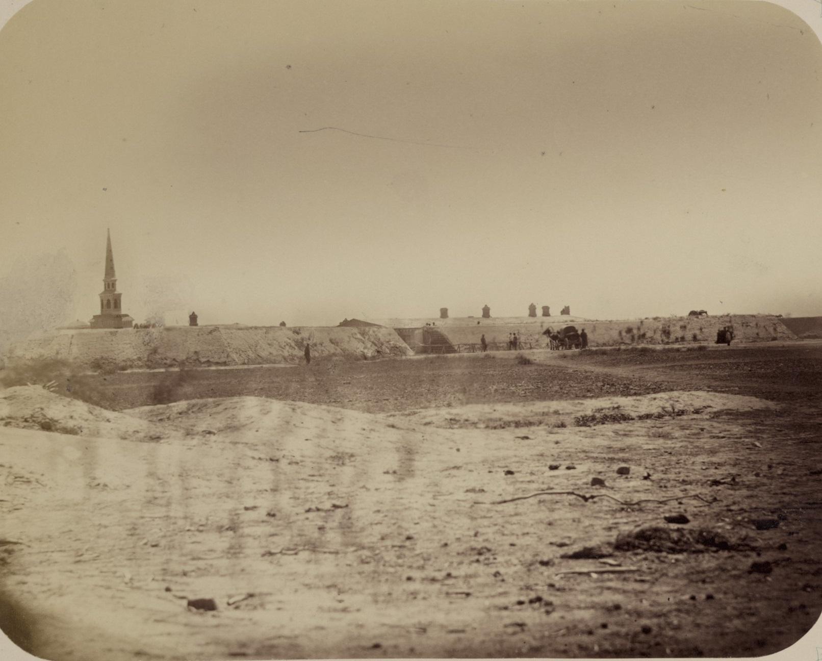 Окрестности Казалинска. Джулек (Джюлек) — укрепление на правом берегу Сырдарьи