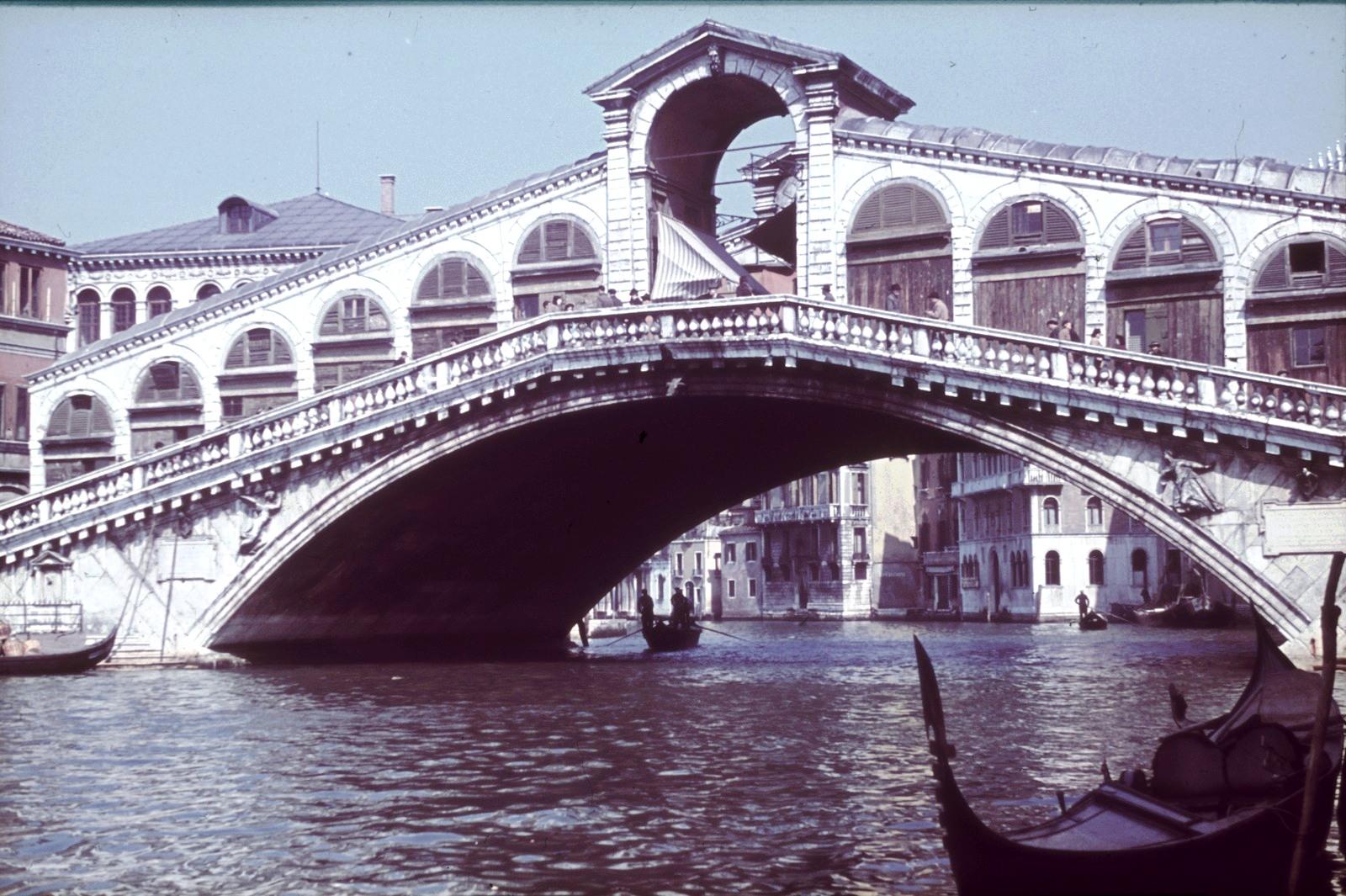 Большой канал. Мост Риальто