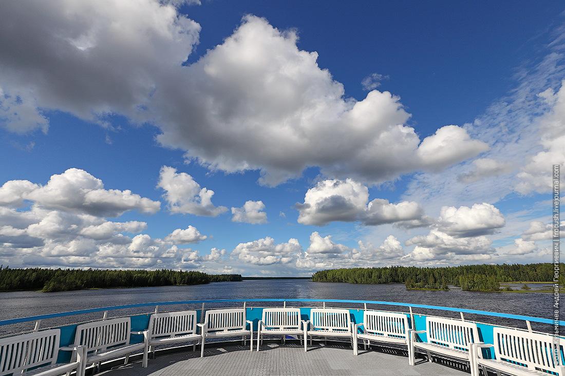 озерная часть Беломорканала