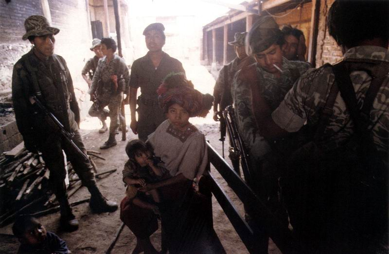 the wars and genocide in guatemala