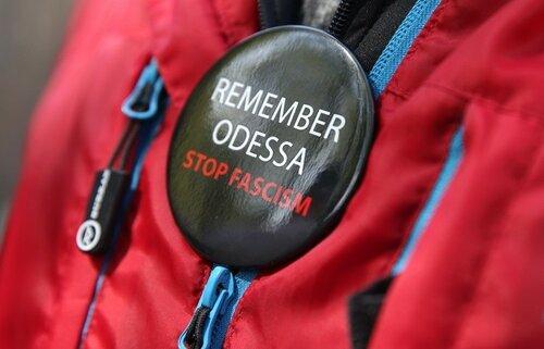 В странах Европы почтили трагедию в Одессе митингами