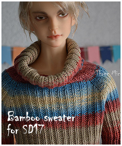 bamboo sweater for SD17