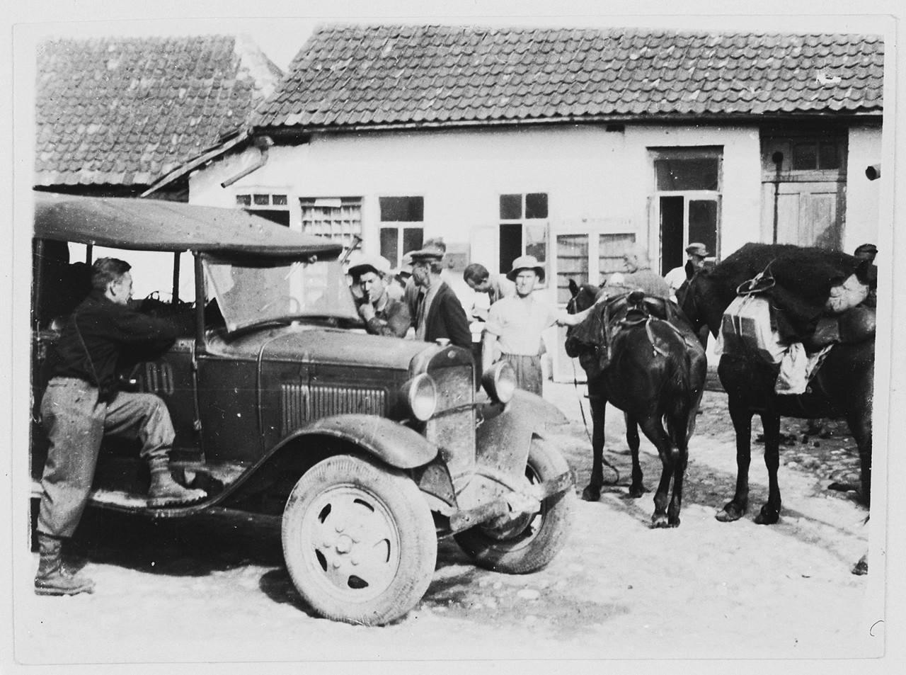 1932. Экспедиция первых немецких рабочих альпинистов на Кавказ.
