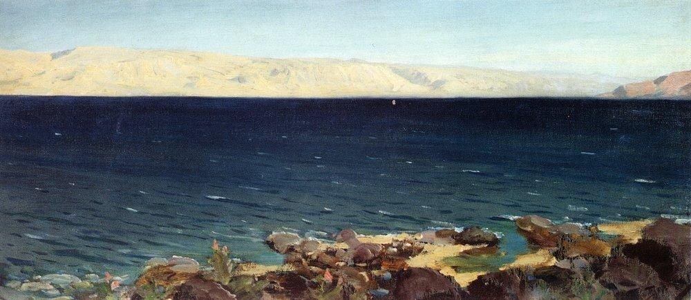 Тивериадское (Генисаретское) озеро2. 1882-1882.jpg