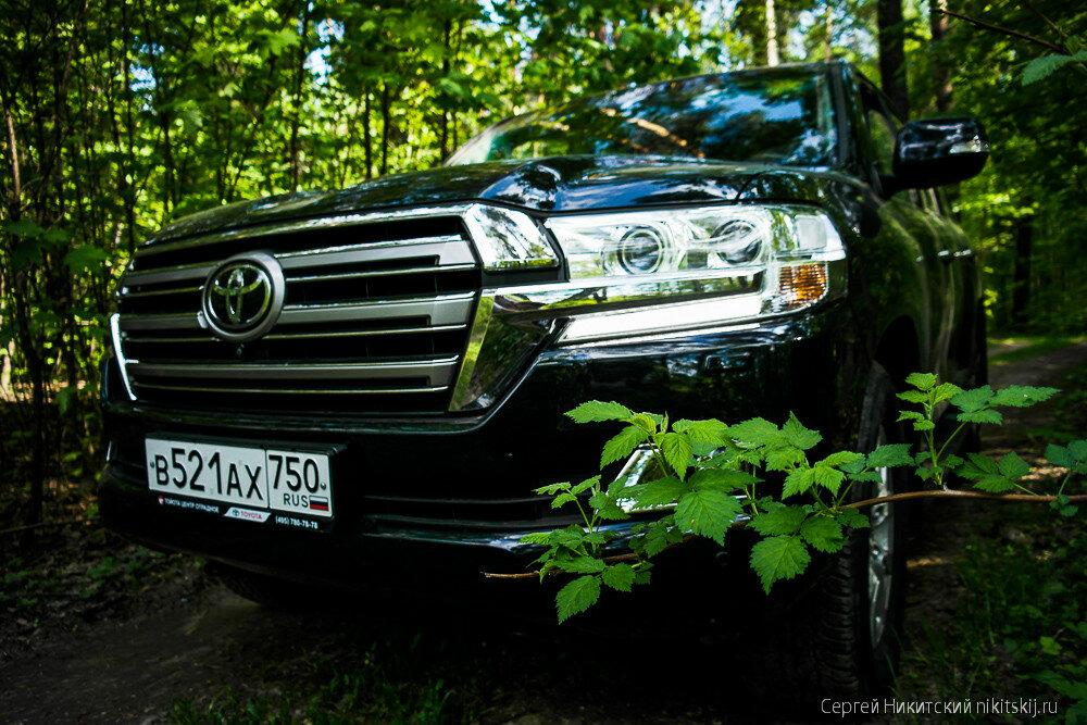 Новый Toyota Land Cruiser 200