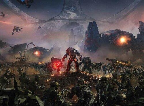 Утёкший арт Halo Wars 2