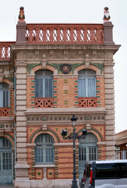 Старый железнодорожный вокзал, Альмерия