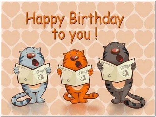 Поздравления с днем рождения прикольные на английском языке 28