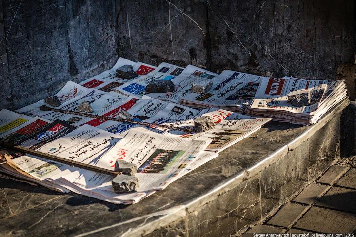 1. Фотографии и текст Сергея Анашкевича1. День в Тегеране, как и в любой европейской столице, начина