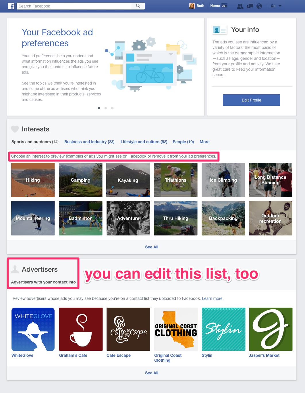Социальная сеть Facebook объявила оначале борьбы сблокировщиками рекламы