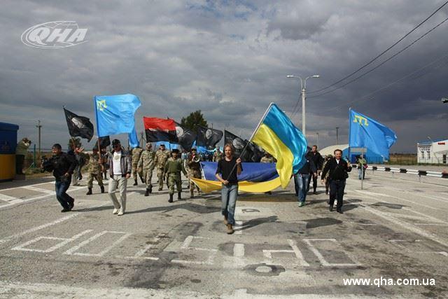 НаЧонгаре готовятся отмечать годовщину гражданской блокады Крыма