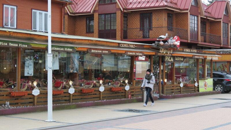 Кафе в Паланге