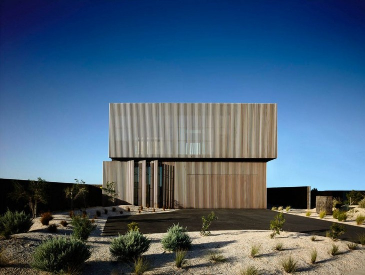 Wolveridge Architects designed this inspiring contemporary residence located in Torquay, Australia,