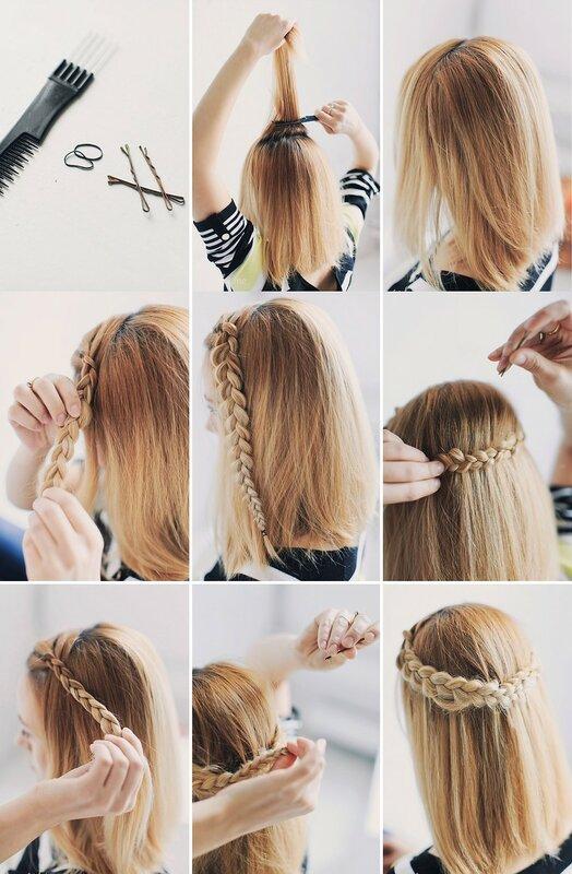 Как красиво собирать волосы домашних условиях