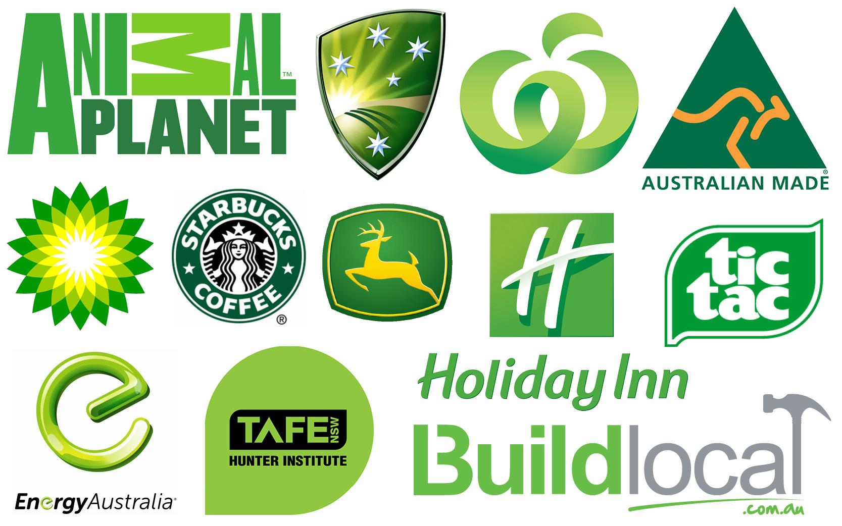 Зеленый цвет в маркетинге
