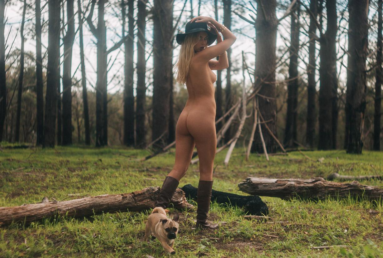 обнаженная модель Пейдж Мари Эванс / Paige Marie Evans nude by Rama Dolman for Yume Magazine